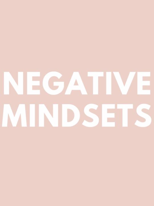 Negative Mindset (Where Have I Been?)